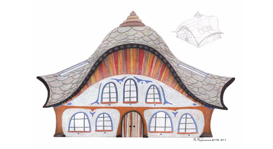 архитектурен проект от Виктор Мъжлеков