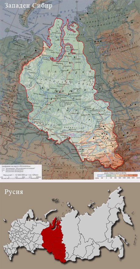Western Siberia the new Noah arch